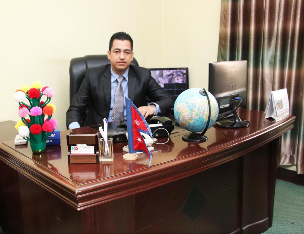Shiva Kumar Karki - Chairman