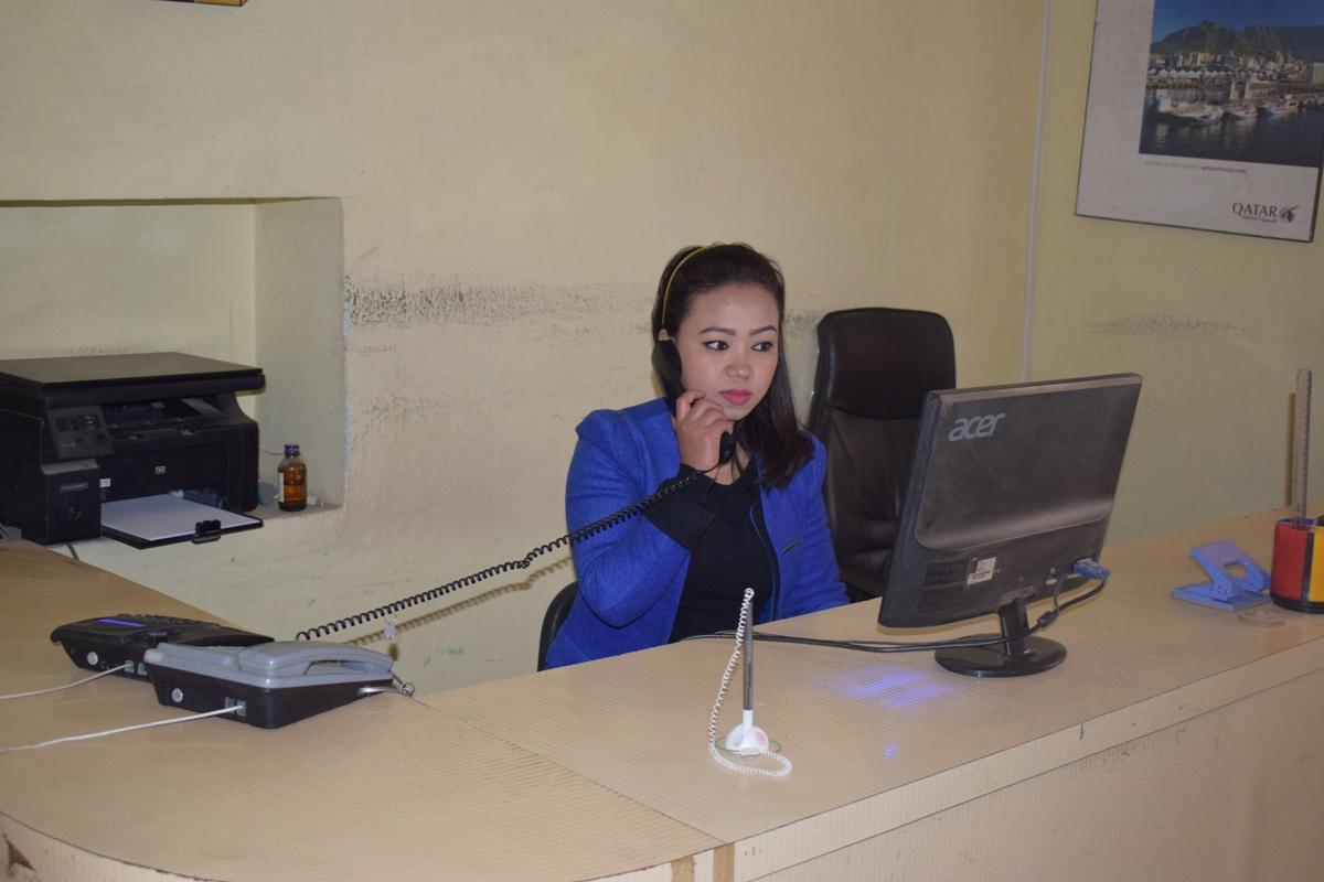 Binita Chhetri - Receptionist