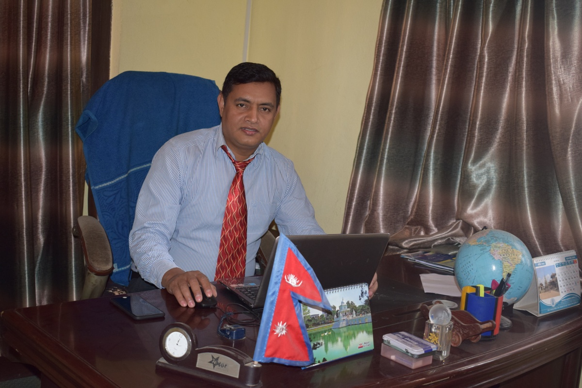 Kedar Thapa (John) - Director - International Marketing